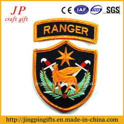 2017 High Quality Custom Fabric Patch Embroidery Badge