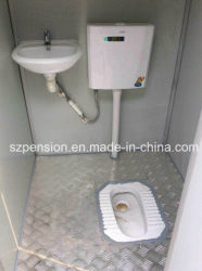 Easy for Mobile Prefabricated/Prefab Public Toilet/Mobile House in The Street