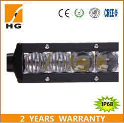 New 5D Light Bar LED Driving Lights 52inch Slim Bar for Jeep Offroad