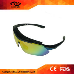 ec3726f43ac City Vision Bike Riding Outdoor Yellow HD Night Vision Driving Glasses