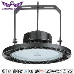 Us Stock Indoor IP65 130lm/W LED UFO High Bay Light for Warehouse