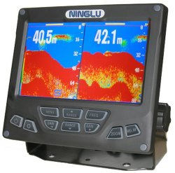 Commercial Fish Finder of Dual-Frequency with 7 Inch TFT LCD