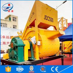 Construction Equipment (JDC-500) Electric Horizontal Axis Concrete Mixer for Sale