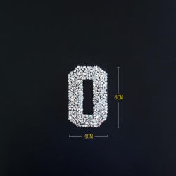 Best Quality Beautiful Rhinestone Patch Diamond Sticker Crystal Applique for Bags Shoes Decoration