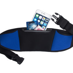 Waterproof Adjustable Sports Waist Bag Fanny Pack for Running Marathon Cycling