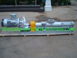 G Type Small Sanitary Stainless Steel Food Grade Mono Screw Pump Mud Slurry Pump