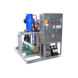 Sea Salt Water Made Liquid Slurry Ice Machine for Fish Boat Sea Food Industry