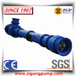 China Vertical Long Shaft Spindle Turbine Pump, Submerged Chemical Water Centrifugal Pump, Submerged Sump Pit Slurry Pump, Semi-Submersible Pump