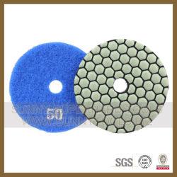 4inch 7 Steps Dry Diamond Hand Polishing Pad
