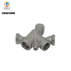 Qingdao Foundry OEM Customized Investment Casting Pipe Fittings