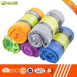 Suede Microfiber Sports Travel Camping Gift Towel Set Packing