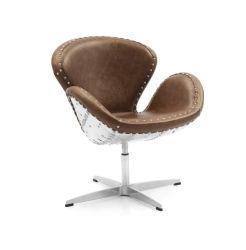 Charmant Aviator Swan Chair, Aluminum Swan Chair, Loft Style Leisure Chair, Office  Chair Yh