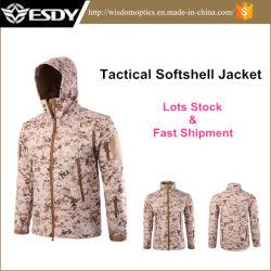 Men's Outdoor Hunting Camping Hoodie Waterproof Coat Sports Military Jacket