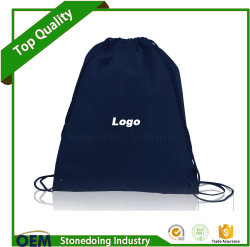 Can Add Logo Cinch Pack Use and Custom Drawstring Nylon Bag