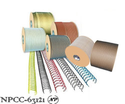 Metal Double Loop Wire Nylon Coated Wire-O Binding Wire Twin Wire (NPCC-63121)