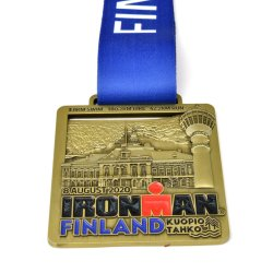 Custom Running Race Award Metal Marathon Sport Medal