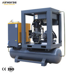 Compresseur Daircombined with Tank for Operating Slurry Pumps, Breaking 7bar 27cfm 5.5/7.5kw/HP