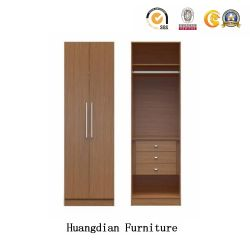 Modern Hotel Bedroom Furniture Wood Closets Guest Room Wardrobe (HD1201)