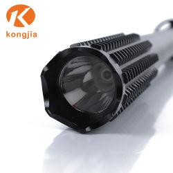 Multifunction Light Rechargeable Aluminum Alloy Flashlight Self Defence Torch