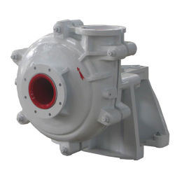 High Efficiency Transfer of Abreisive and High Density Slurry Rubber Liner and Impeller Slurry Pump