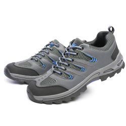 Sport Breathable Rubber Sole Safety Shoes for Workers