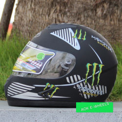 Full Face Motorbike Helmet with ABS Material (MH-005)