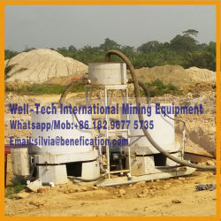 Philippines 200tph Alluvial Gold Ore Production Plant