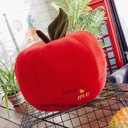 Wholesale Plush Funny Fruit Toy Apple Sofa Cushion