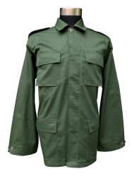 Men's Tactical Gear Olive Green Camouflage Bdu Military Uniform (BDU-TIB)