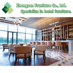 Customization Modern Wooden Metal Fabric Leather Table Chair Furniture for Hotel Restaurant Dining Room Bar Cafe