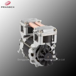 Twin Cylinder Package Sealer Head Oil Free Piston Pump Air Compressor