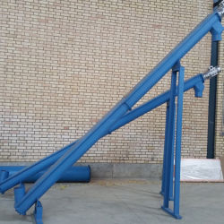 Xinda Ls Screw Conveyor Rubber Powder Conveyor Waste Tire Recycling