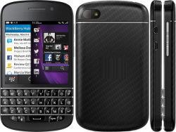 "New Original for Blackberry Q10 16GB Black (Unlocked) Smartphone, 8MP, 3.1"", GSM Qwerty"
