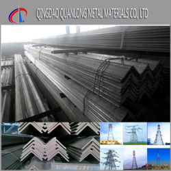 Construction Structural Hot Rolled Galvanized Angle Iron Price