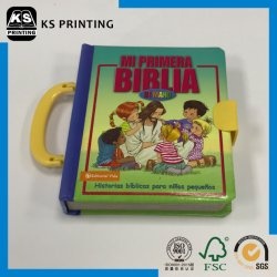 High Level Full Color Board Book Printing Children Book