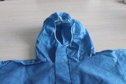 Nonwoven Disposable Coverall Used for Prevent Chemical