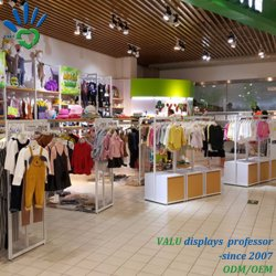 New Arrival New Style Kids Retail Garment Shop Interior Design