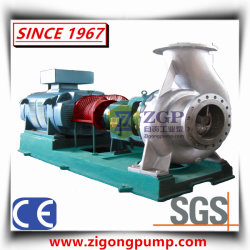 Horizontal Paper Making Open Impeller Centrifugal Slurry Pulp Pump