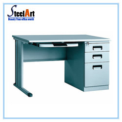 Office Furniture Simple Steel Computer Desk  sc 1 st  Made-in-China.com & China Steel Office Computer Desk Steel Office Computer Desk ...