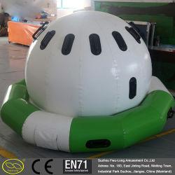 0.6~0.9 mm PVC Tarpaulin Durable Floating Inflatable Water UFO
