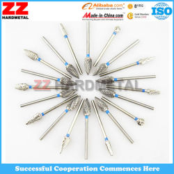 Tungsten Cemented Carbide Dental Rotary Burrs Cutting Tools