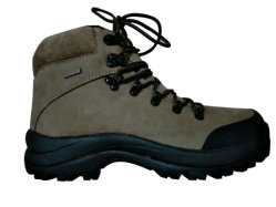 Expensive Full Grain Leather Hiking Shoes with Waterproof Function Design