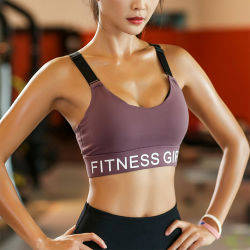 Healong Custom Sportswear Yoga Bra Wear Yoga Vest Sport Bra