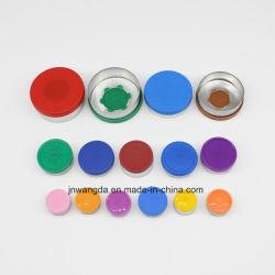 13mm 20mm 32mm Pharmaceutical Injection Aluminum Plastic Combination Flip off Crimp Vial Cap