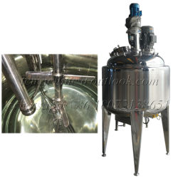 Stainless Steel High Shear Mixing Tank with Vacuum Pump