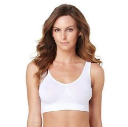 Fast Delivery Ladies Sport Leisure Comfortable Yoga Seamless Ahh Bra (SR2230)