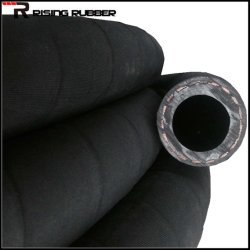 High Pressure Industrial Smooth Surface Air Rubber Pipe