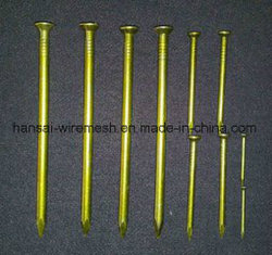 China Manufacturer Concrete Nails with Bamboo Shank