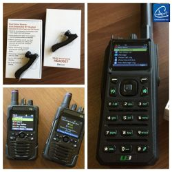 Low VHF Tactical Handheld Radio with Build in Bluetooth Function with Bluetooth Earphone