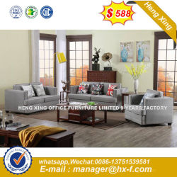 Italy Design Classic Wooden Office Furniture Leather Office Sofa (HX SN8069)